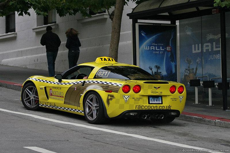 » Такси Corvette Z06?  :: Sparcoman.ru - автомобильный блог