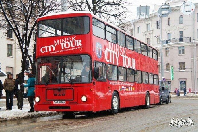 Теперь и у Минска есть свой двухэтажный экскурсионный автобус (+фото) - туристический блог об отдыхе в Беларуси