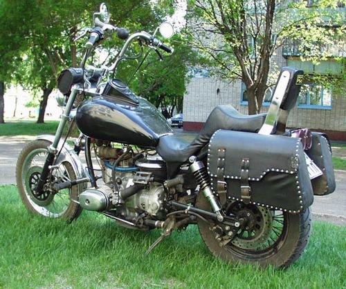 Тюнинг мотоциклов Урал галерея фото