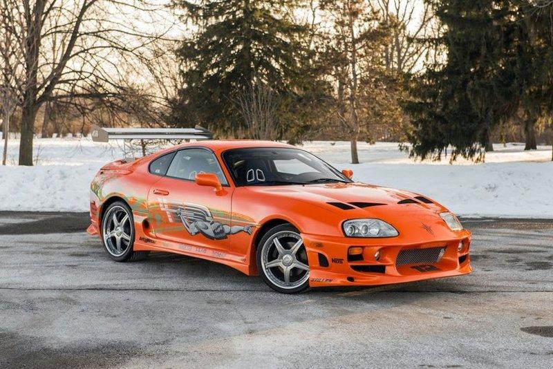 "Toyota Supra ""The Fast and the Furious"" (JZA80) '2001 / Surfingbird - мы делаем интернет лучше"