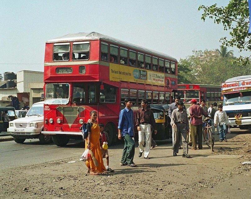 Транспорт Индии - описание местных автобусов, такси и поездов