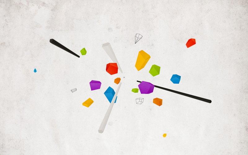 цвета, линии, геометрия, Абстракция, фигуры