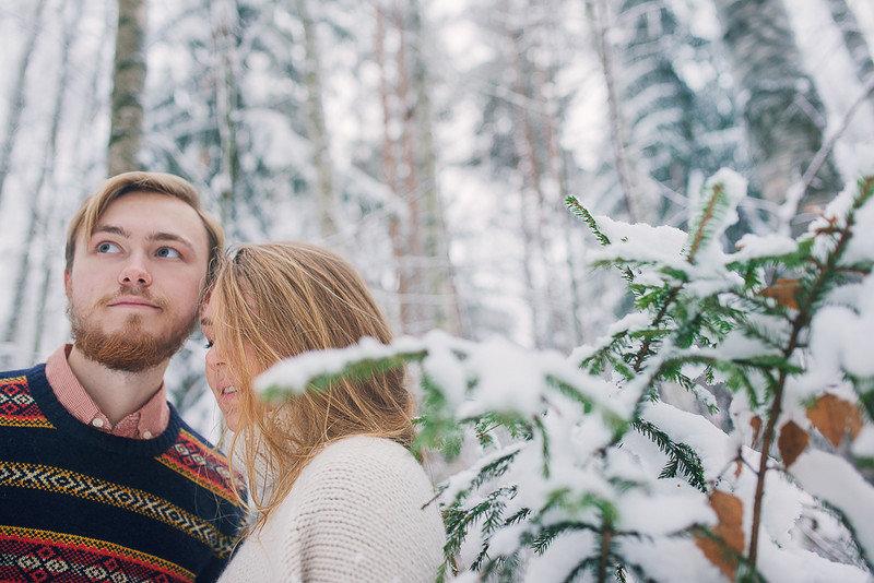 Увеличить фото из записи «Снежный лес»