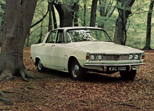 В 1963 новый Rover 2000 выглядел неотразимо.
