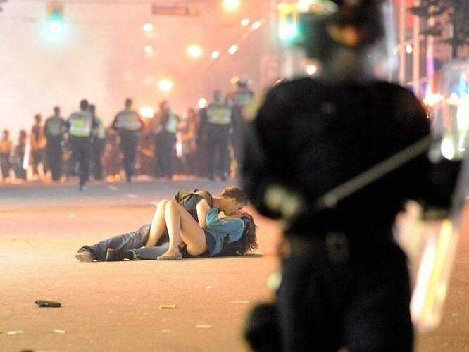 Ванкуверский поцелуй. Vancouver Kiss