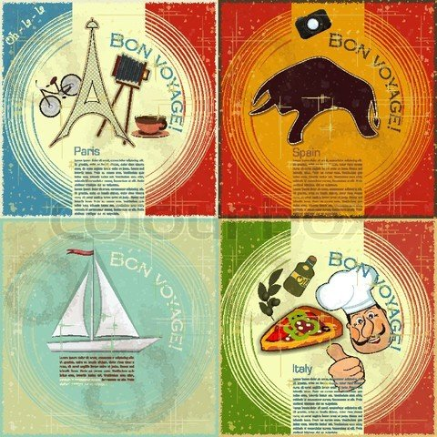 Винтажные постеры,ярлычки, этикетки, марки,, открытки...много !. Обсуждение на LiveInternet - Российский Сервис Онлайн-Дневников