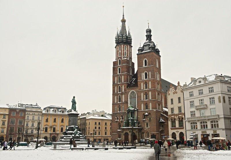 Вкусные путешествия  » Blog Archive   » Зимняя Польша. Прогулка по Кракову
