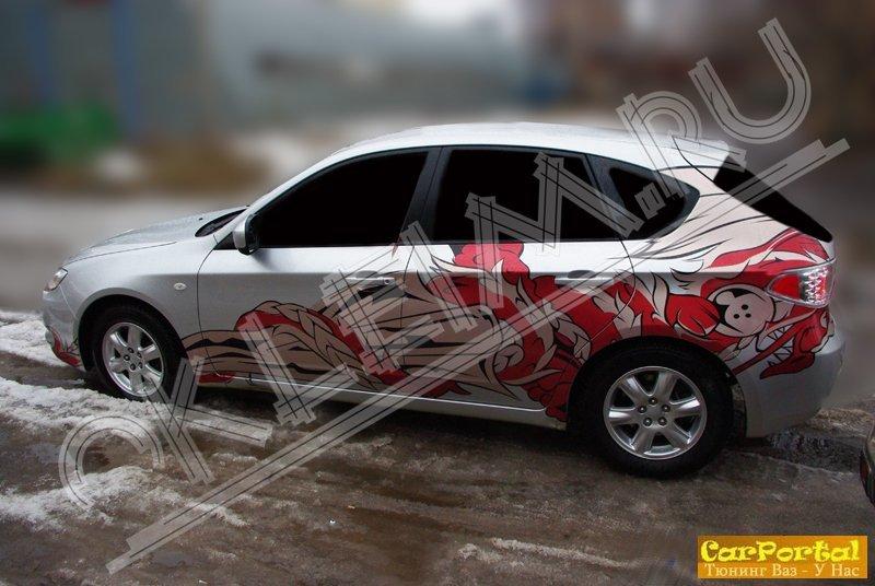 Внешний тюнинг - Виниловые наклейки на авто » Тюнинг ВАЗ, Лада - Фото тюнинга ваз, тюнинг автомобилей - своими руками