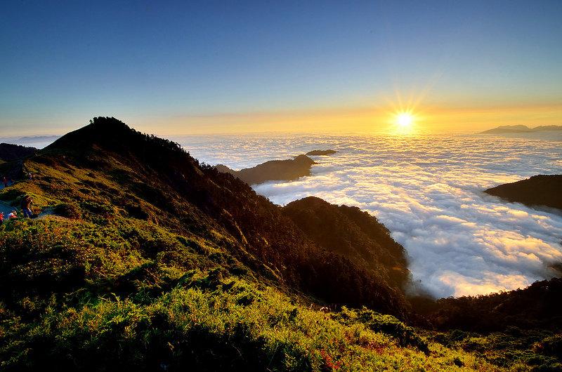 Завораживающий вид с вершины горы » Блог позитива