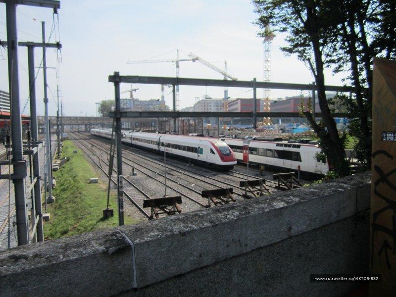 Железнодорожное депо Женевы