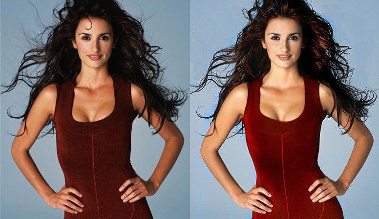 Звезды до и после фотошопа фото