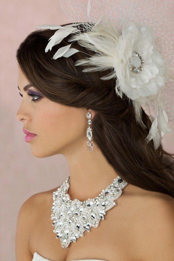 украшения для невесты на свадьбу фото время это наверняка
