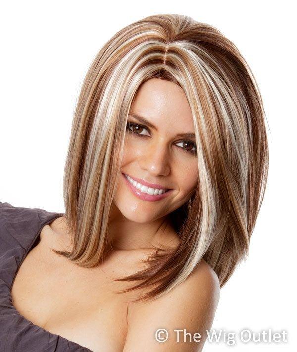 Окрашивание волос в два цвета для блондинок