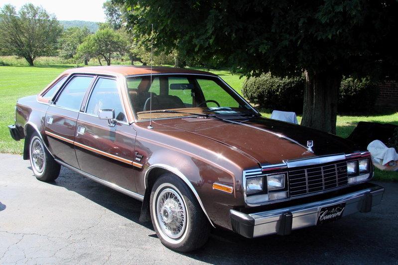 "Limited Sedan >> ""AMC Concord Limited 4-door Sedan"" — card from user polyvyana.olga in Yandex.Collections"