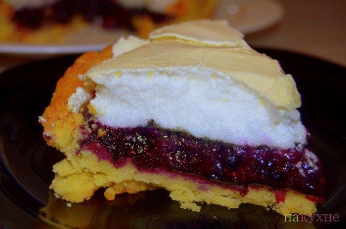 ягодный пирог безе рецепт-хв1