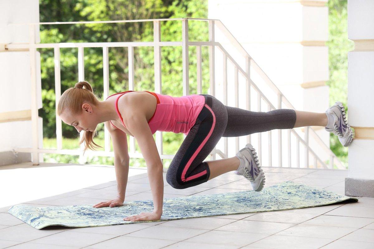 Простое гимнастика для похудение