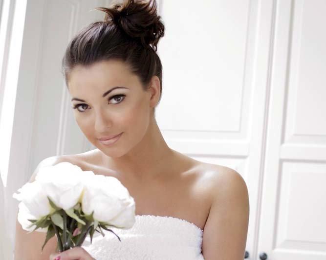 красивые невесты фото брюнеток