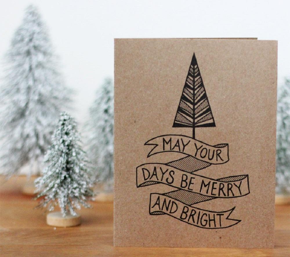 Днем, открытки с новым годом минималистичные своими руками