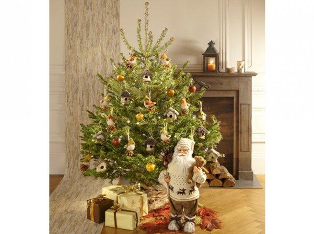 16-Красивые-украшенные-елки:-фото