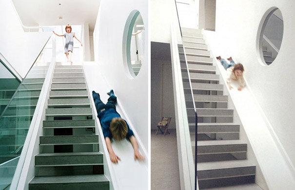 25 видов креативных лестниц в доме