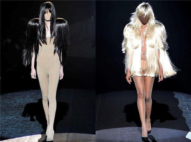 Авангардный стиль одежды: контрасты