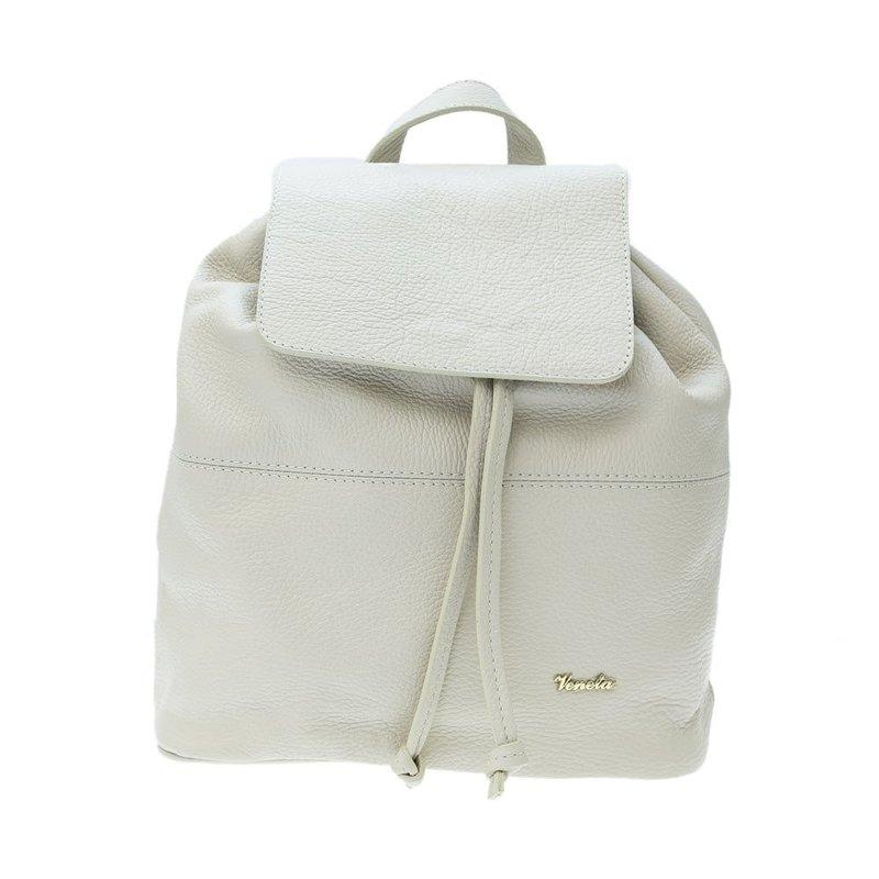 Бежевый рюкзак Pelletteria Veneta, купить по цене 11200р. в интернет магазине Пеллетерия RU