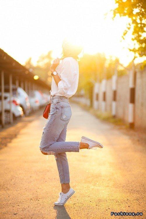 C чем носить кеды (100 фото)! / фото много кед