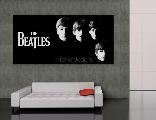 Декор стен в квартире – новый взгляд на постеры
