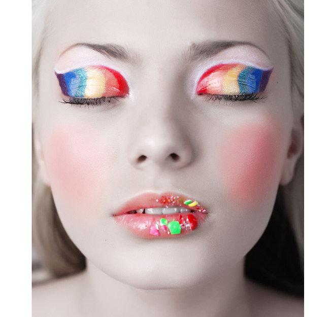 Фантазийный макияж - фото