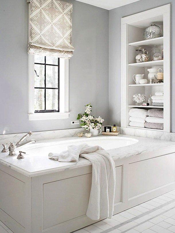 Идеальный порядок в ванной