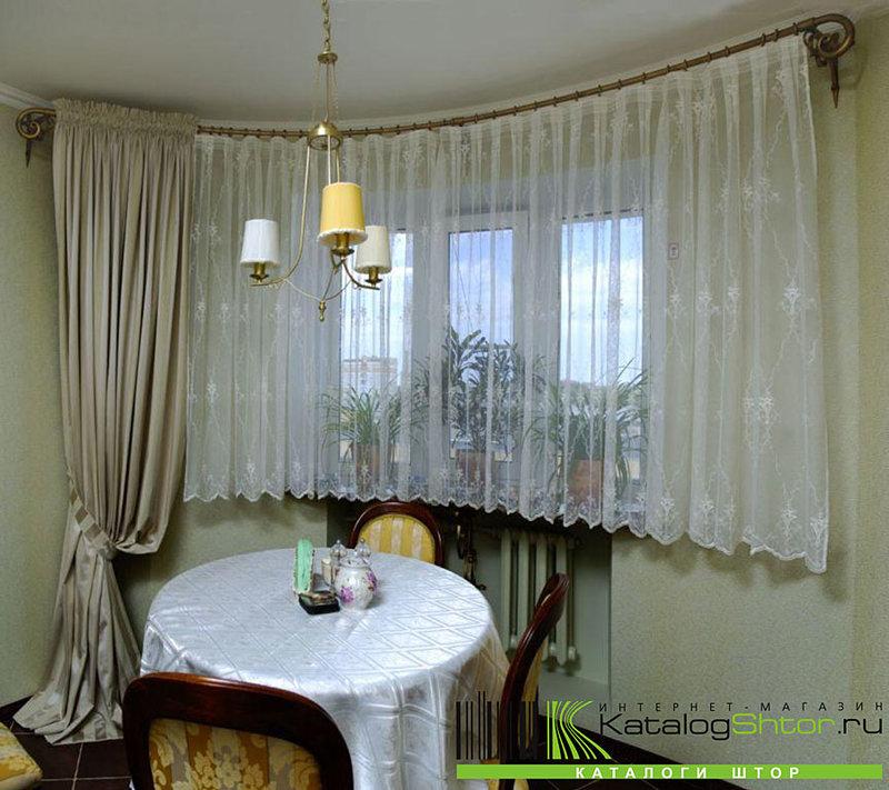 Модная одежка для окна - шьем классические шторы