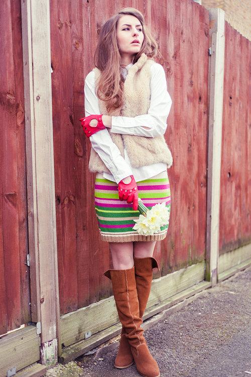 Как носить меховую жилетку правильно - 32 фото | Блог о рукоделии и моде
