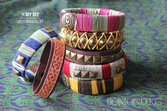 Как сделать стильные браслеты из кожи своими руками? Фото. Видео