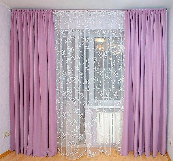 Красивые гардины для штор: фото и цена на потолочные гардины