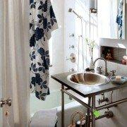 Крохотная ванная идеи