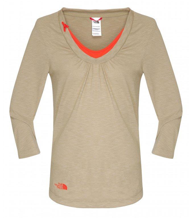 Лонгслив The North Face Have a Break 3/4 Sleeve Shirt женская - купить в Москве в интернет-магазине по цене от 1 245 руб. Скидка 50%. - Активизм.ру