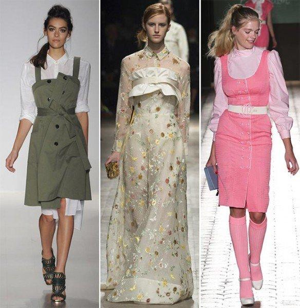 Модные платья 2015 + 100 фото