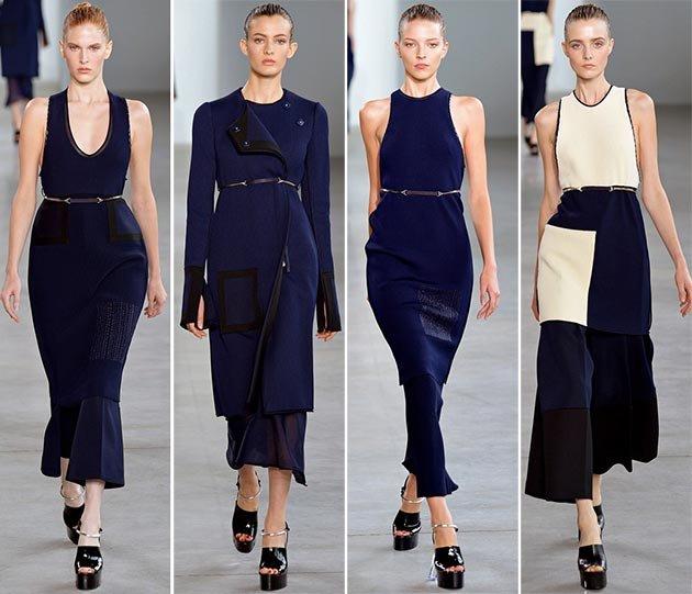 Модные платья весны и лета 2015: фото