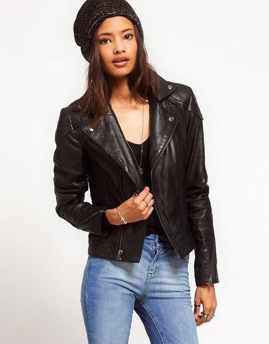 Модные женские кожаные куртки. 230 фотографий стильных фасонов. | Блог для ЖЕНЩИН