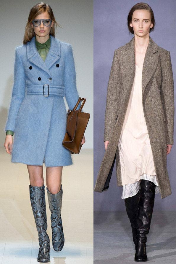 Модные женские пальто осень–зима 2014–2015