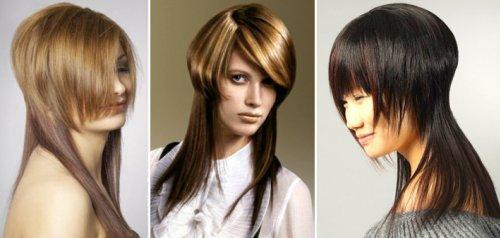На длинных волосах каре с шапочкой приобретает яркий и привлекательный вид