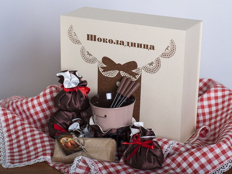 Подарочный набор Новогодняя коллекция Шоколадница - купить в интернет-магазине 123magazin.ru