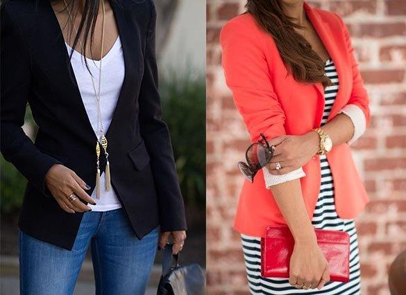С чем носить пиджак женский (блейзер): фото и советы. Женский онлайн-журнал Delafe.ru - все о моде