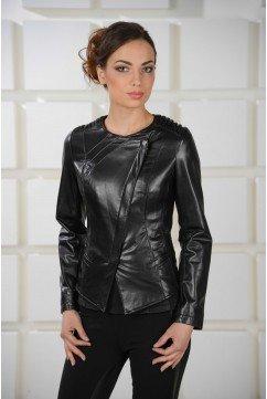 Стильная куртка женская из натуральной кожи - новинка!