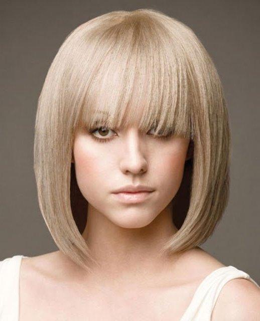 стрижки на короткие волосы 2014 для круглого лица