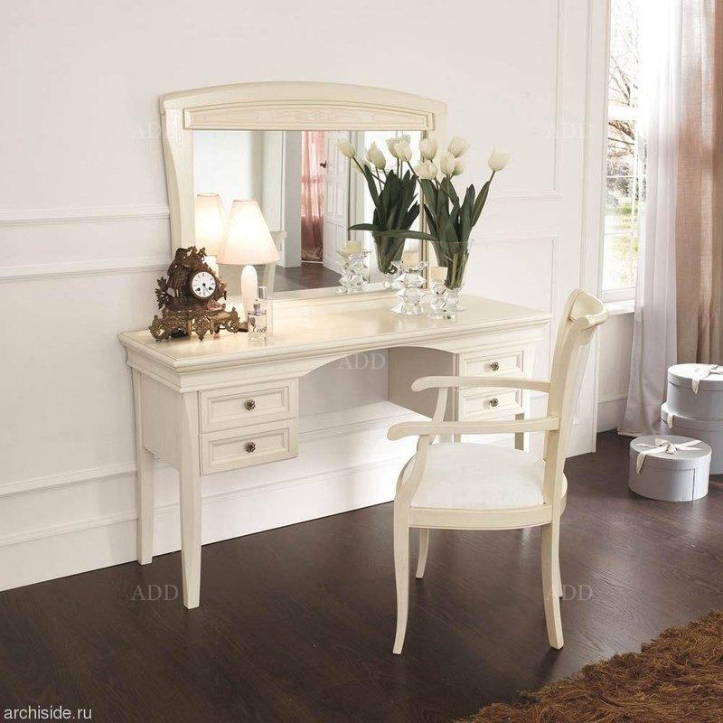 Туалетный столик Aurora Avorio (Venier) - Италия - где заказать? Купить по выгодным ценам - PalmiraMebel.ru