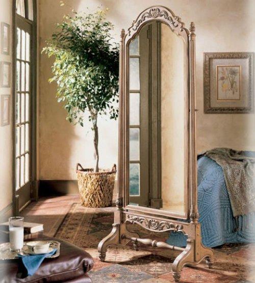 Зеркало в спальне: фото, варианты расположения  | Строительный портал