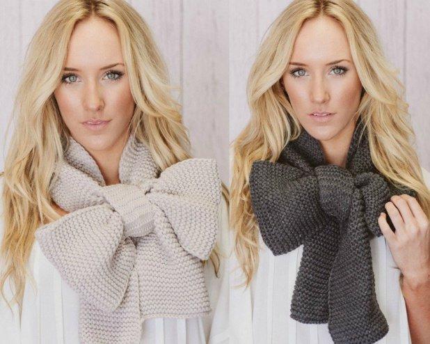 женские шарфы осень-зима 2014-2015