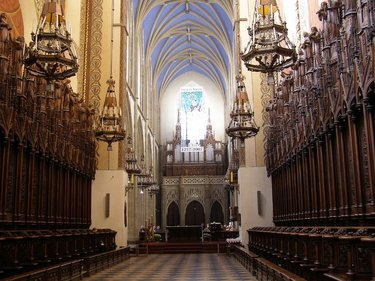 кёльнский собор фото внутри