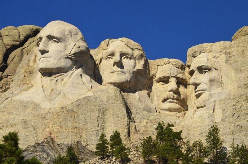 Потрясающе! Знаменитые достопримечательности мира с разных ракурсов. гора президентов